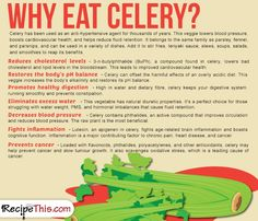 Cooking Tips Podcasts | Why Eat Celery from RecipeThis.com