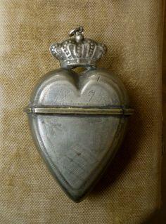 Antique French locket