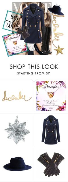 """Hello December!"" by kellyplus ❤ liked on Polyvore featuring mode, Harmony Paris, december en sayhello"