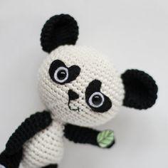 PATTERN crochet PANDA pdf tutorial by Loopy Pattern how crochet panda bear pattern pdf crochet bear pattern amigurumi panda diy pdf teddy bear pattern Crochet Panda, Crochet Penguin, Crochet Turtle, Cute Crochet, Crochet Dolls, Crochet Mignon, Crochet Bear Patterns, Turtle Pattern, Embroidery Techniques