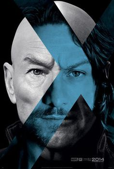 """""""X-Men: Days of Future Past"""" A teaser poster for """"X-Men: Days of Future Past,"""" showing Patrick Stewart and James McAvoy as iterations of the character Charles Xavier/Professor X.  Design by BLT Communications, LLC, Hollywood.  CREDIT: Key Art Awards 2014"""