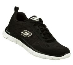 Skechers Women's Sweet Spot Fashion Sneaker,Black/White,9.5 XW US (888222000516) Memory foam
