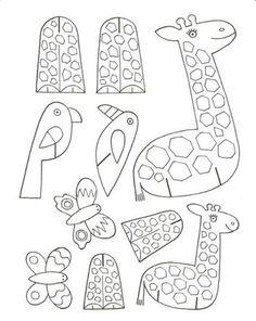 Zürafa papağan