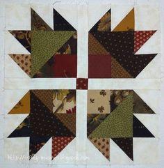 pinterest bear paw quilt pattern | Bear Paw tutorial