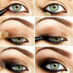 Destination Style - Makeup! Traditional Smoky Eye!