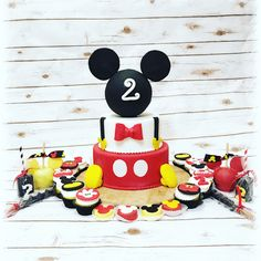 Mickey Mouse Birthday Cake Cupcakes Chocolate Covered Rice Krispies Treats Chocolate Covered Apples Chocolate Covered Pretzels @mommabakez