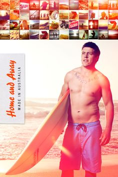 Home and Away Campaign by Jamie Carbery, via Behance Best Tv Shows, Favorite Tv Shows, Home And Away Cast, Love Home, Man Photo, Series Movies, My Happy Place, Cool Watches, Celebrity Photos