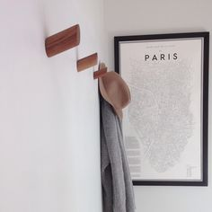 Our Scandinavian-inspired wall hooks will add an understated look your entryway, bathroom, laundry or bedroom. Victorian Interiors, Modern Victorian, Plasterboard Wall, Entryway Hooks, Slanted Walls, Wall Hooks, Mudroom, Storage Organization, Home Projects
