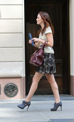 Blair Waldorf (Leighton Meester) in Marc Jacobs and Alice + Olivia