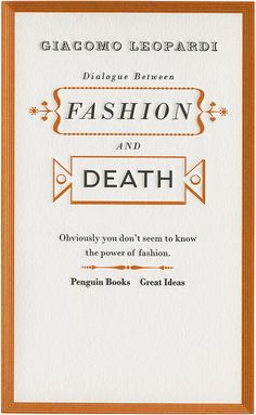 Dialogue Between Fashion and Death | for the curious mind.