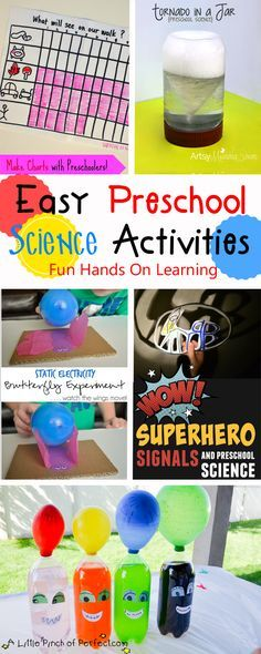 Science Fun for Kids - lots of fun hands on science experiments for kids to explore the world