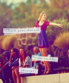 starlight- Taylor swift. This is one of my favorite songs on her new album. <3