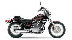 "Yamaha Virago 250- my first ""big"" bike. Mine was burgundy & cream"