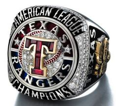 2011 Texas Rangers Ring