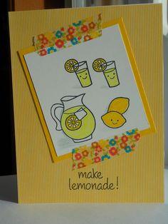 Lawn Fawn - Make Lemonade Lemonade by Lauranorris321, via Flickr