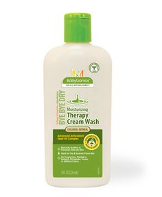 Bye Bye Dry - Moisturizing therapy cream wash with colloidal oatmeal.