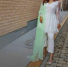 Pakistani dress Closet Collection, Dress Collection, Diwali Outfits, Kurta With Pants, Aiman Khan, Dress Designs, Pakistani Dresses, Traditional Dresses, Asian Fashion