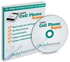 join now for the training and get a cell phone repair book and a DVD to learn about repairs and fixing.