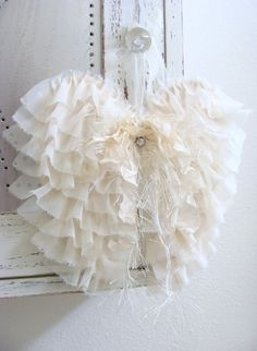 Shabby Fabric Angel Wings French Country Cottage by ShabbySoul