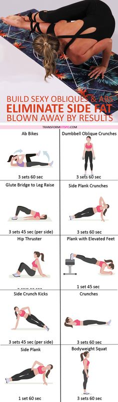 #womensworkout #workout #femalefitness Share and repin if this workout eliminated your side fat. Click the pin for the full workout.