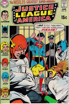 Justice League of America 1960 1st Series 81 June by ViewObscura, $15.00