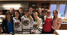 Hershey Bears Give Back: February 2019 Nathan Walker, Liam O Brien, American Hockey League, Hershey Bears, Ronald Mcdonald House, Camping World, Giving Back, February