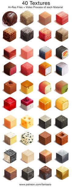Material Workshop + video by fantasio on DeviantArt