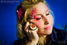 Mariam Sesión de fotos - Maquillaje artístico Fotos: Belén Bulgheroni Maquillaje: Celeste Arrizabalaga