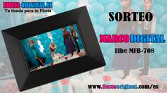 """Sorteo Marco de fotos digital 7"""" marca ELBE modelo MFM-708 con ranura para SD/MMC/MS ademas de calendario y reloj."""