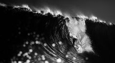 Wave Contact | Kelly Slater dropping in for a barrel ride at Quiksilver Pro France 2012 - Mattias Hammar