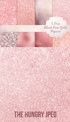 Rose Gold free textures