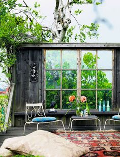 Patio. Elle Decor Espana
