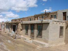 Acoma Pueblo: Homes in Sky City