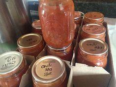 Pressure Canning Chili