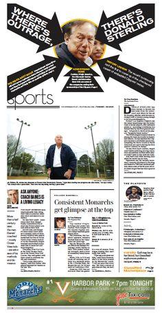 Sports, April 29, 2014.