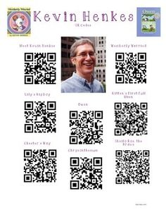 Kevin Henkes Author Study with QR Codes library