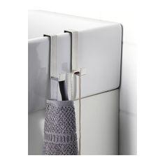LILLÅNGEN Hanger for door, stainless steel stainless steel -