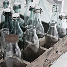 bottle objets...