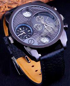 Unique Mens Watch Watches For Men Unique, Fancy Watches, Expensive Watches, Stylish Watches, Men's Watches, Cool Watches, Fashion Watches, Swagg, Mens Fashion