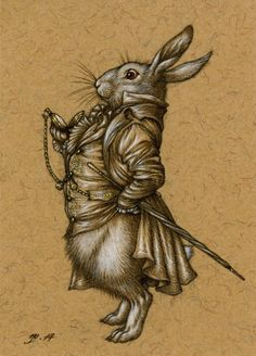 Niroot Puttapipat:The White Rabbit Alice in Wonderland