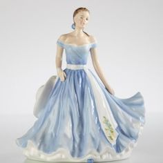 Fine Bone China Figurine - Flower of the Month, September - Aster