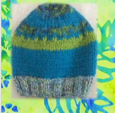 A bright hat for a beautiful baby! Hat knitted in wool. Stripes of turquoise blue and lime Approximate measurements: Top to bottom of hat: 13 cm in) Width: 13 cm in) Lovingly handcrafted by Bronwyn Angela White in a pet-free and smoke-free environment. Baby Hats, Baby Blue, Fiber Art, Hand Knitting, Knitted Hats, Brother, Big, Color, Knit Caps