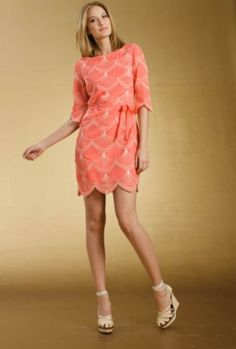 Chara Dress - Love the color and how it can be day time with nude heels or night with black and a dark statement necklace.