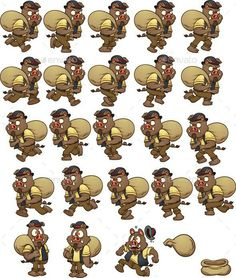 Buy Wild Boar Sprites by memoangeles on GraphicRiver. Wild boar carrying a bag. Sprites, run cycle and death. Vector clip art illustration with simple gradients. Character Illustration, Illustration Art, Run Cycle, Wild Boar, 2d Character, Game Assets, Sprites, Presentation Design, Clip Art