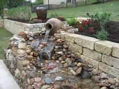 backyard streams and ponds - Google Search
