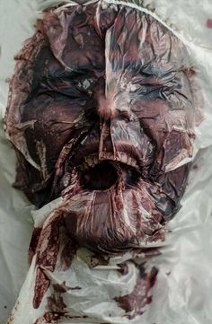 blood-faceless chris mackenney