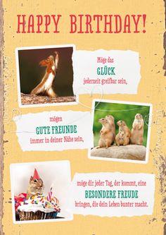 Happy Birthday! - Postkarten - Grafik Werkstatt Bielefeld