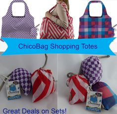 Reusable ChicoBag Grocery Bags, Shoulder Shopping Tote Set - Perfect for Market or Kitchen, Vita Geometric Design of High Quality Nylon - Machine washable, Eco friendly, Compact, Less bulk than Canvas, Manuf. Warranty & Hassle-Free Guarantee http://www.amazon.com/Reusable-ChicoBag-Grocery-Shoulder-Shopping/dp/B00JVUOFJM