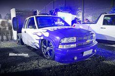 Chevrolet SS10 - Evento: www.autocustom.com.br/2014/08/mega-sexta-encontro-noturno-carros-sumare
