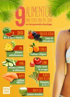 Cuida lo que comes y verás como tu piel lo agradecerá. La fruta es una aliada estupenda para mantenerte joven.